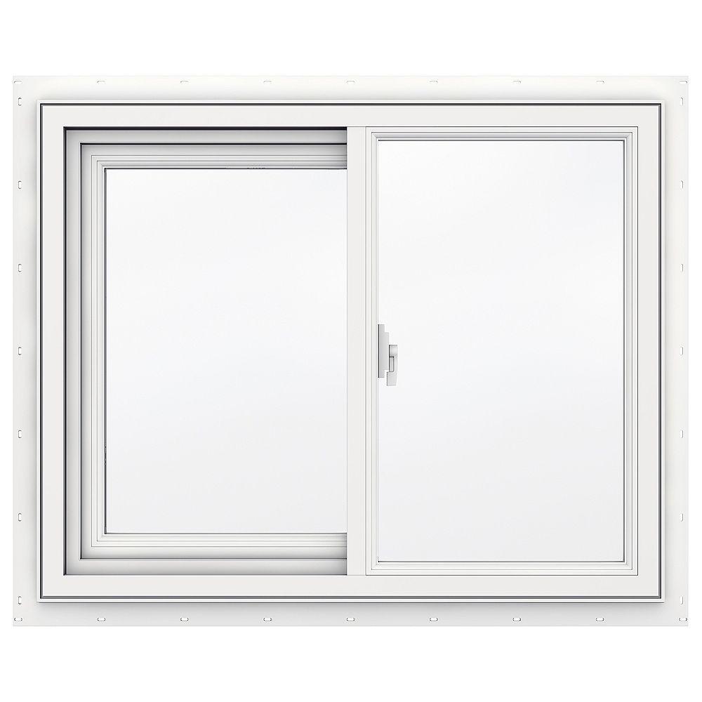 JELD-WEN Windows & Doors SÉRIE 3500 Coulissante en vinyle 30 po x 24 po - Faible émissivité - ENERGY STAR®