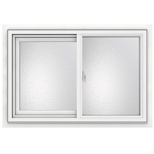 36-inch x 24-inch 3500 Series Sliding Vinyl Obscure Window - ENERGY STAR®