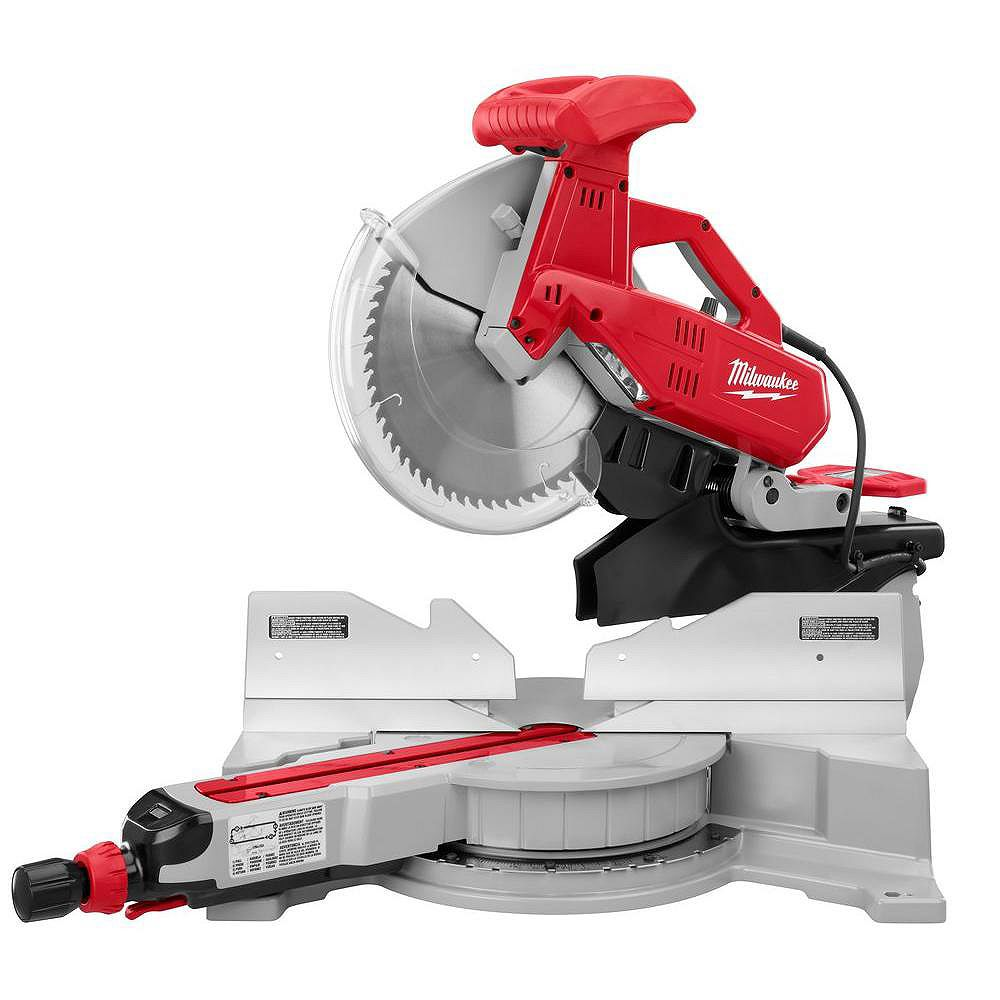 Milwaukee Tool 6955-20 12-inch Dual Bevel Sliding Compound Mitre Saw