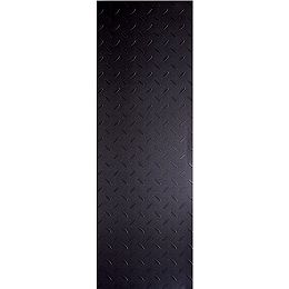 Commercial 12-inch x 36-inch Diamond Plate Charcoal Vinyl Flooring (24 Sq. ft./Case)