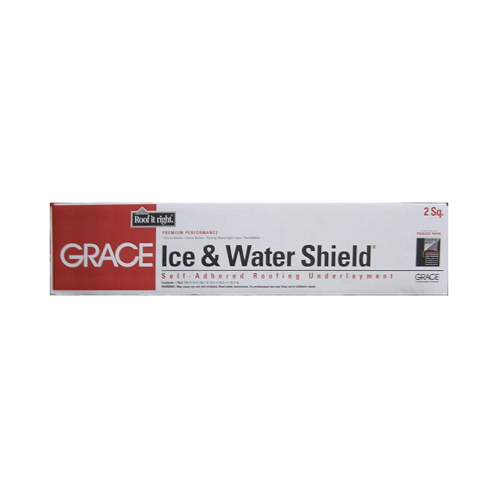 Grace Ice & water shield 3 pied large et 67 pied long