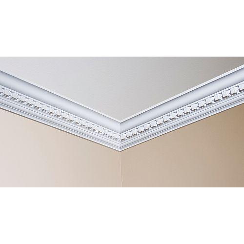 4Inch Dentil Inside Corner