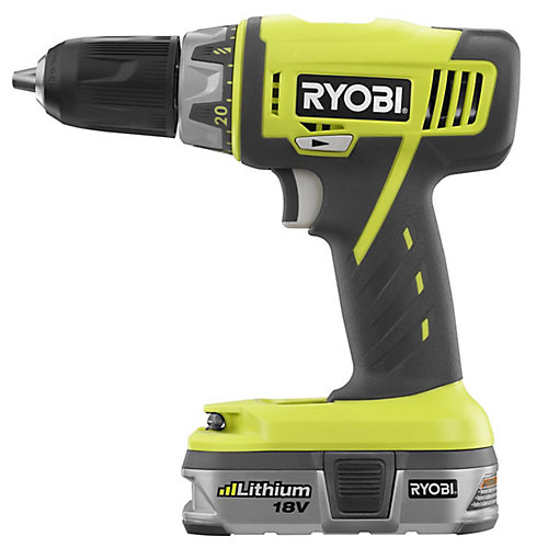 18V Lithium Compact Drill Kit