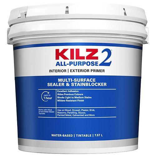 KILZ 2 ALL-PURPOSE Interior/Exterior Primer - 7.58 L