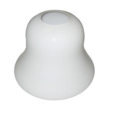 Shawson Lighting 15,24cm Verre, Fini Opal Blanc