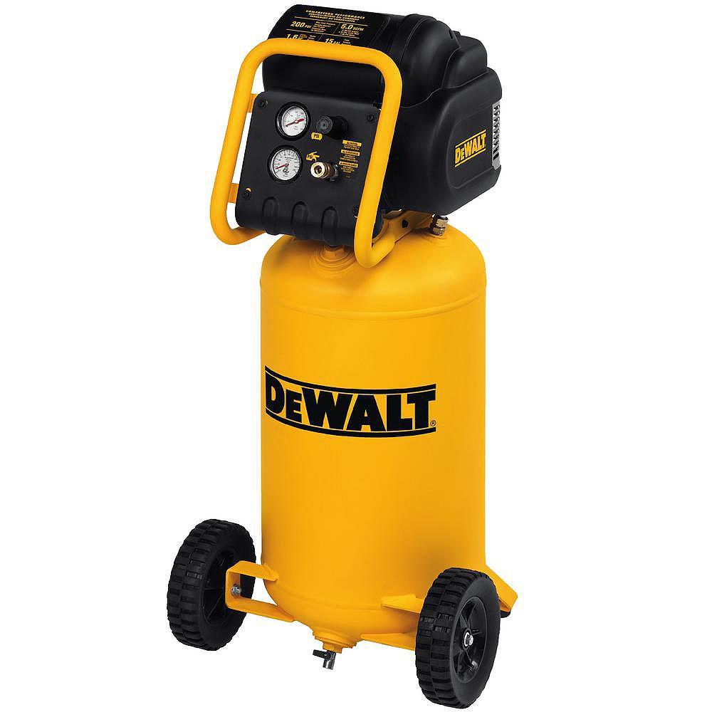 DEWALT 1.6 Continuous HP 56.8L 200 PSI Compact Workshop Air Compressor