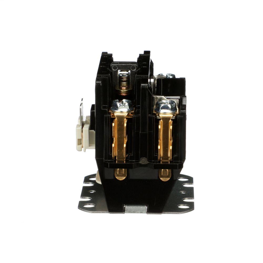 Schneider Electric  Square D Contactor, Definite Purpose, 30A, 1 pole, 24/24 VAC 50/60 Hz coil, open