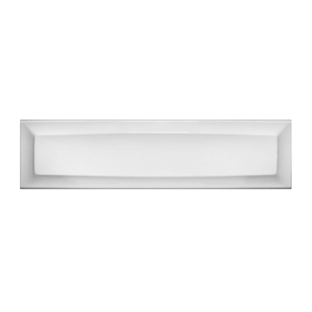 American Standard 5 x 32 Tablier en acrylique blanc
