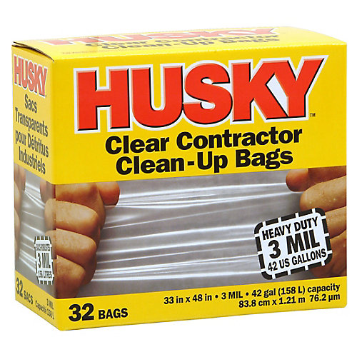 Contractor Clean-Up Bags
