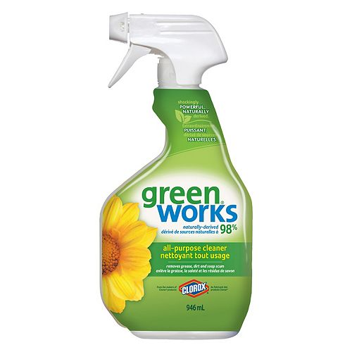 GreenWorks 946 mL All-Purpose Cleaner Spray