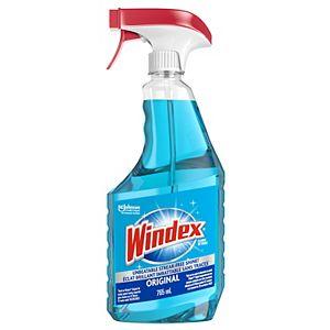Produits nettoyants pour verre et vitres