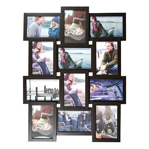 Cadre de collage noir Array  pour 12 photos