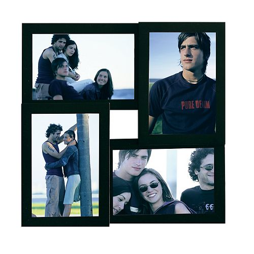 Cadre de collage noir Array  pour 4 photos