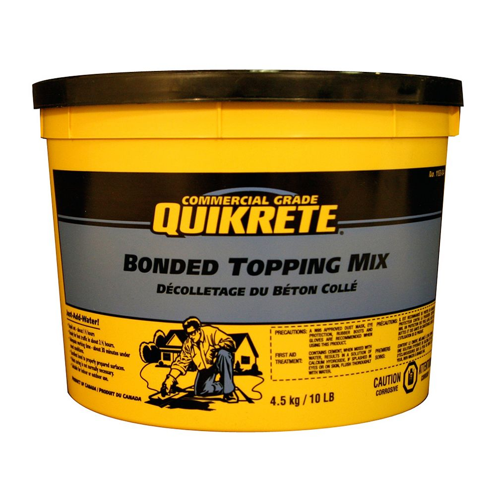 Quikrete Bonded Topping Mix 4.5kg Pail