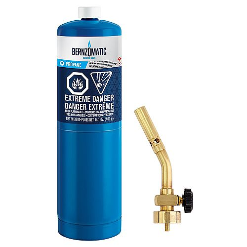 Bernzomatic UL100 Basic Propane Torch Kit