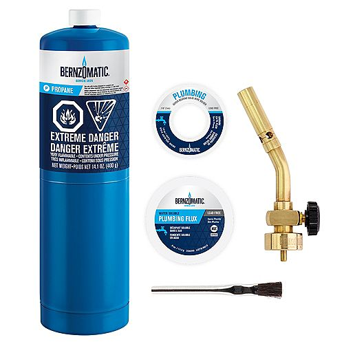 Bernzomatic PK1001KC Manuel Torch Plumbing Kit