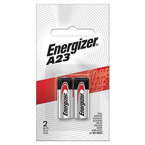 Energizer A23 Batteries, 2 Pack