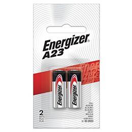 Piles Energizer A23, paquet de 2