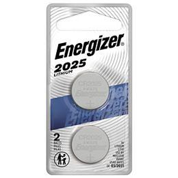 Pile miniature 2025 au lithium, emballage de 2
