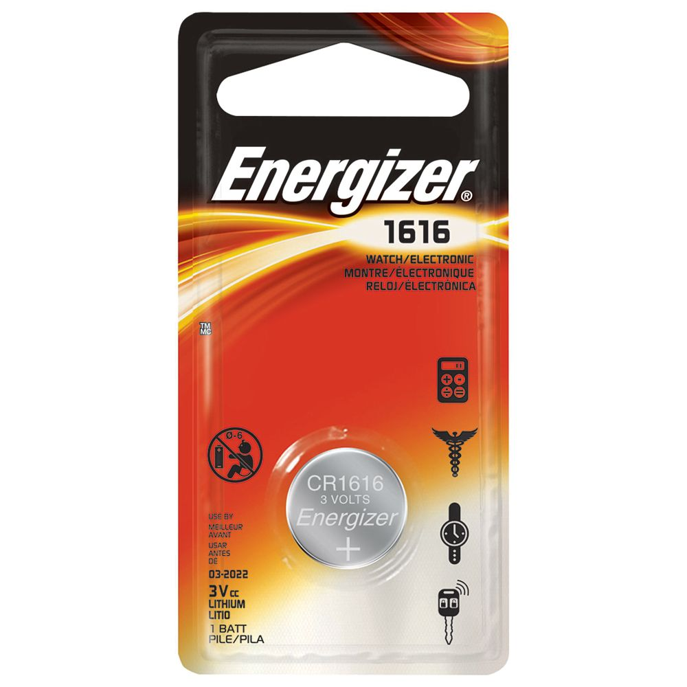 Energizer Max 1616 Battery