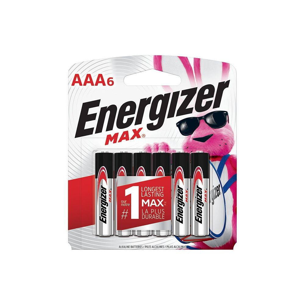 Energizer Max AAA Battery - (6-Pack)