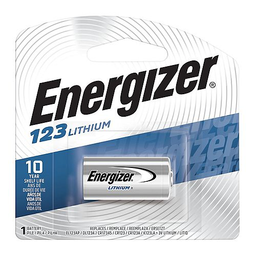 Energizer Energizer 123 Batteries, 1 Pack