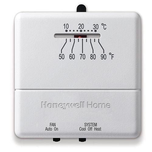 Economy Heat/Cool Manual Thermostat
