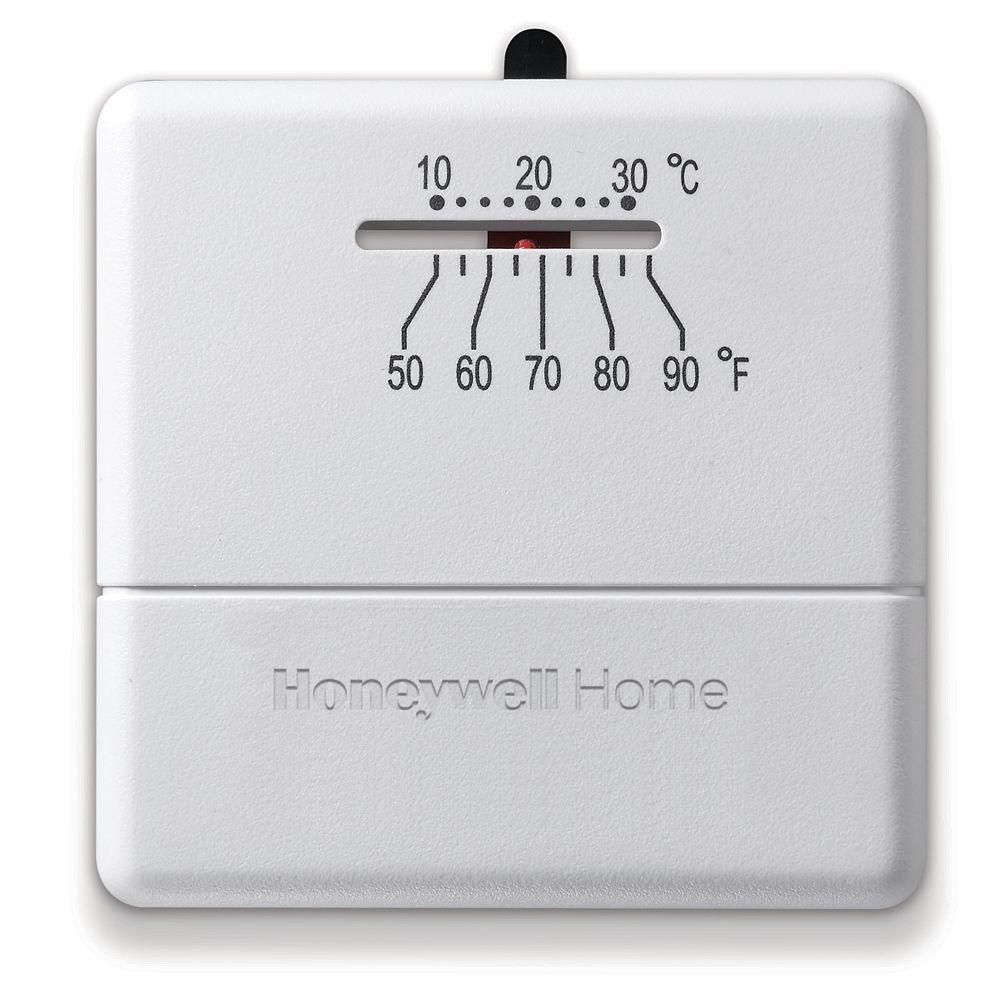 Honeywell Honeywell Home Economy Heat Only Manual Thermostat