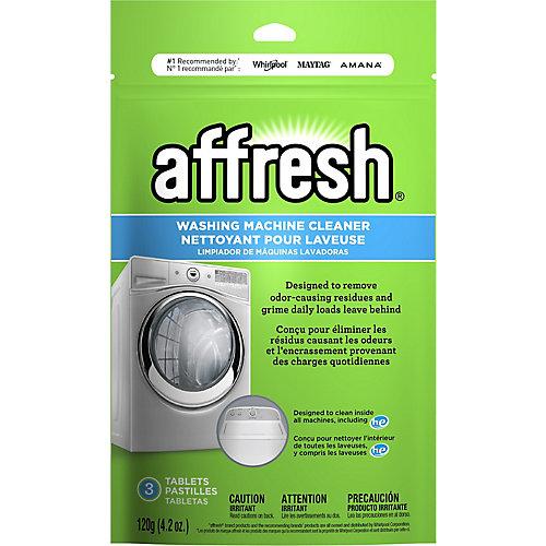 Comprimés de nettoyant pour laveuse