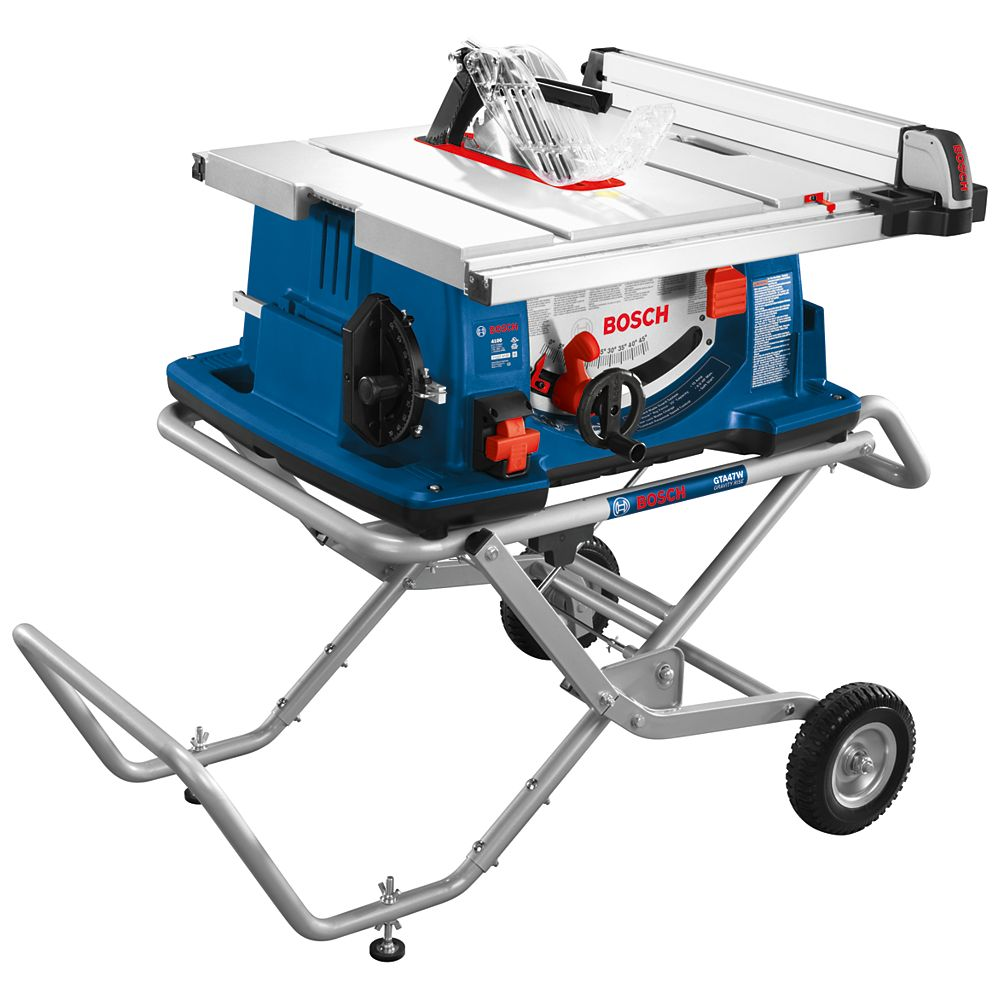 Bosch 4100-10 10 inch Worksite Table Saw with Gravty-Rise Wheeled Stand
