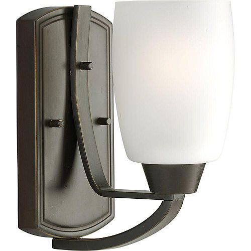 Wisten Collection 1-Light Antique Bronze Wall Sconce