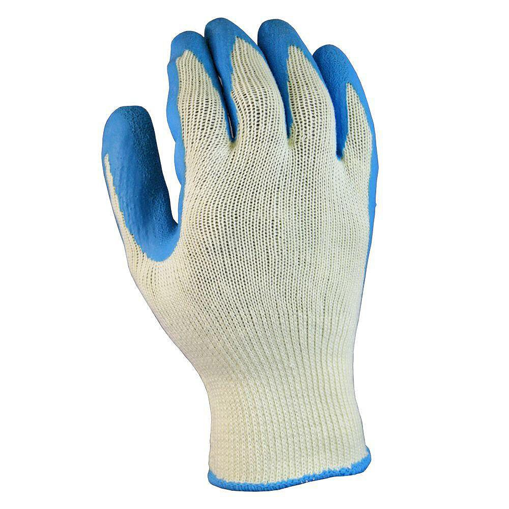 Firm Grip Latex Coated All Purpose Gloves - Large