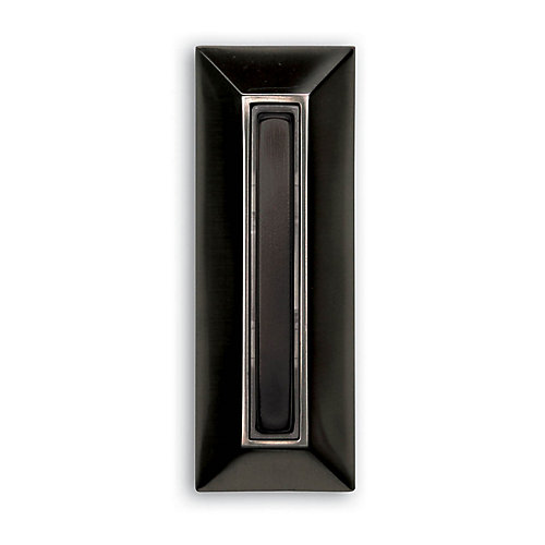 Wired Push Button - Black Finish