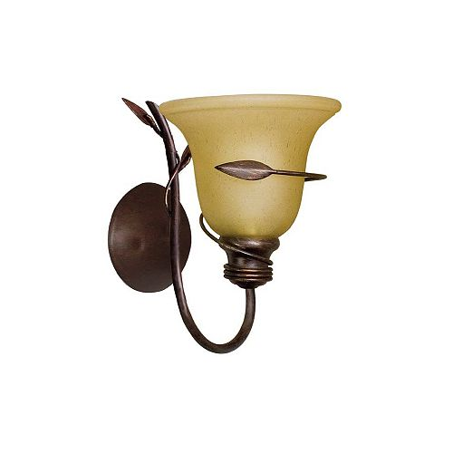 Hampton Bay Applique murale Ivy, 1 ampoule