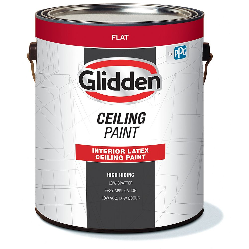 Glidden Interior Latex Ceiling Paint 3.70 L-48150