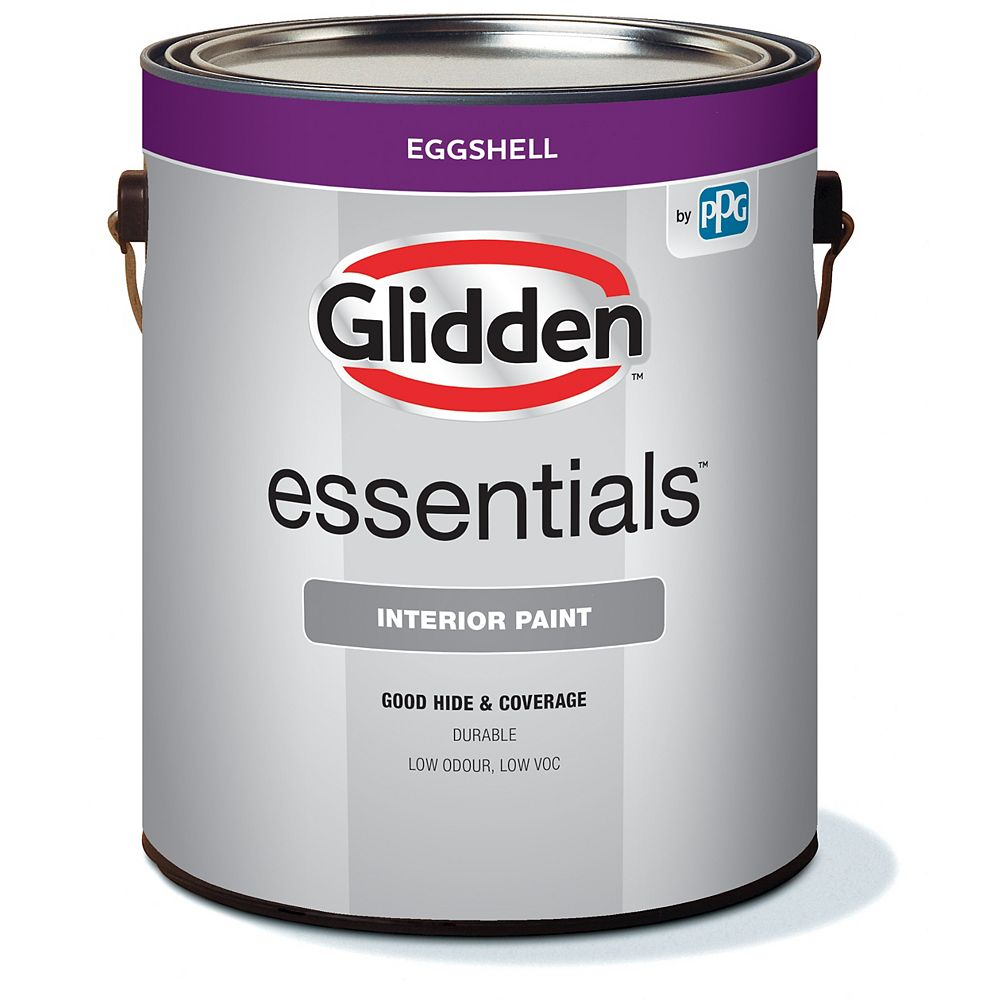 Glidden Essentials Interior Eggshell - Medium Base 3.60 L-48208