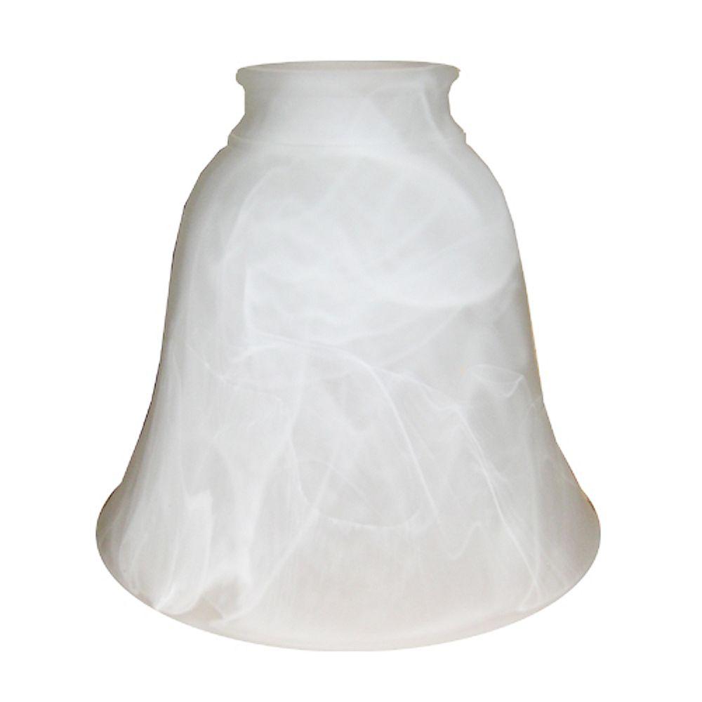 Shawson Lighting 5.375 In. Glass, Alabaster Finish