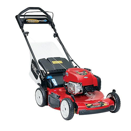 Personal Pace 22-inch Briggs & Stratton Gas Self-Propelled Lawn Mower