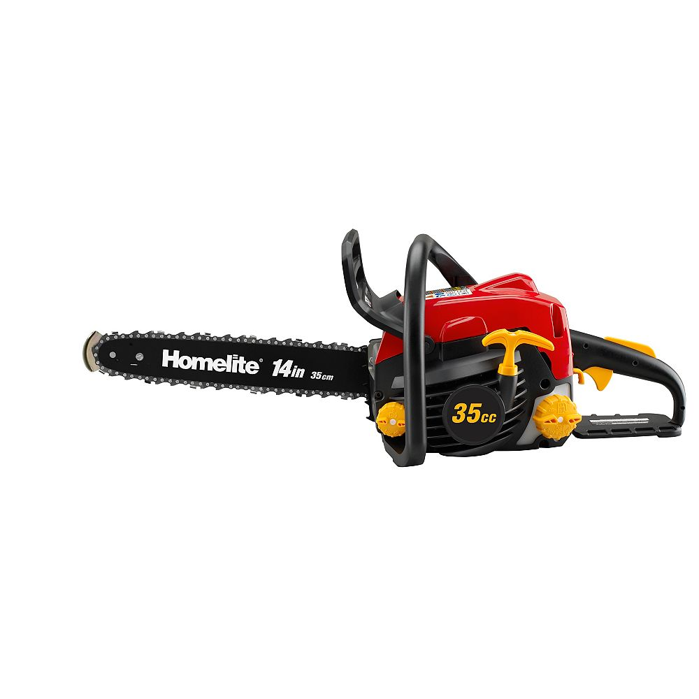Homelite 14-inch 35cc Gas Chainsaw