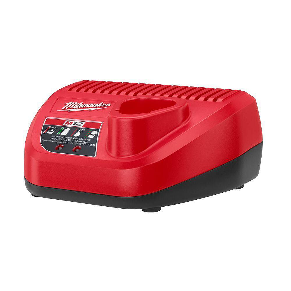 Milwaukee Tool M12 12V Lithium-Ion Battery Charger