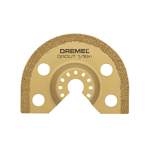 Multi-Max 1/16 In. Grout Remover Blade