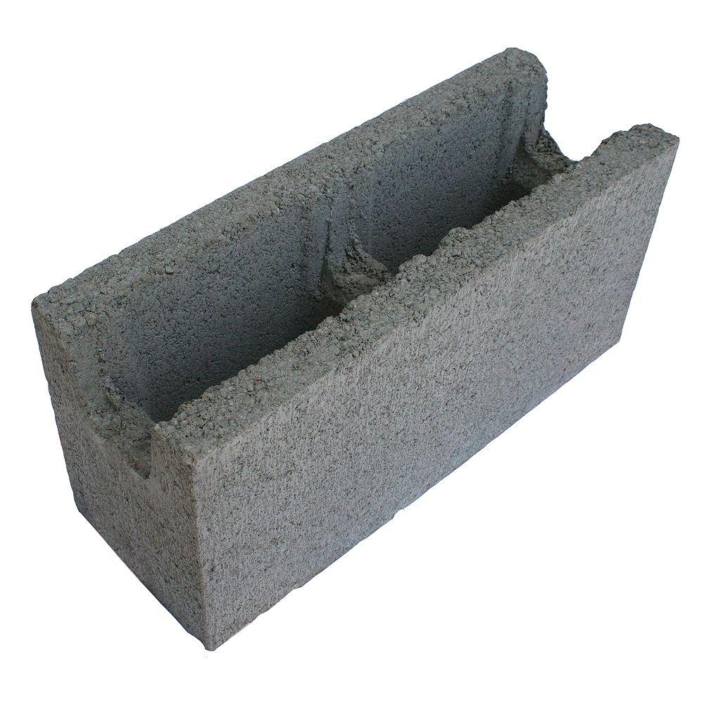 Basalite Concrete Products 15CM SM BB GREY