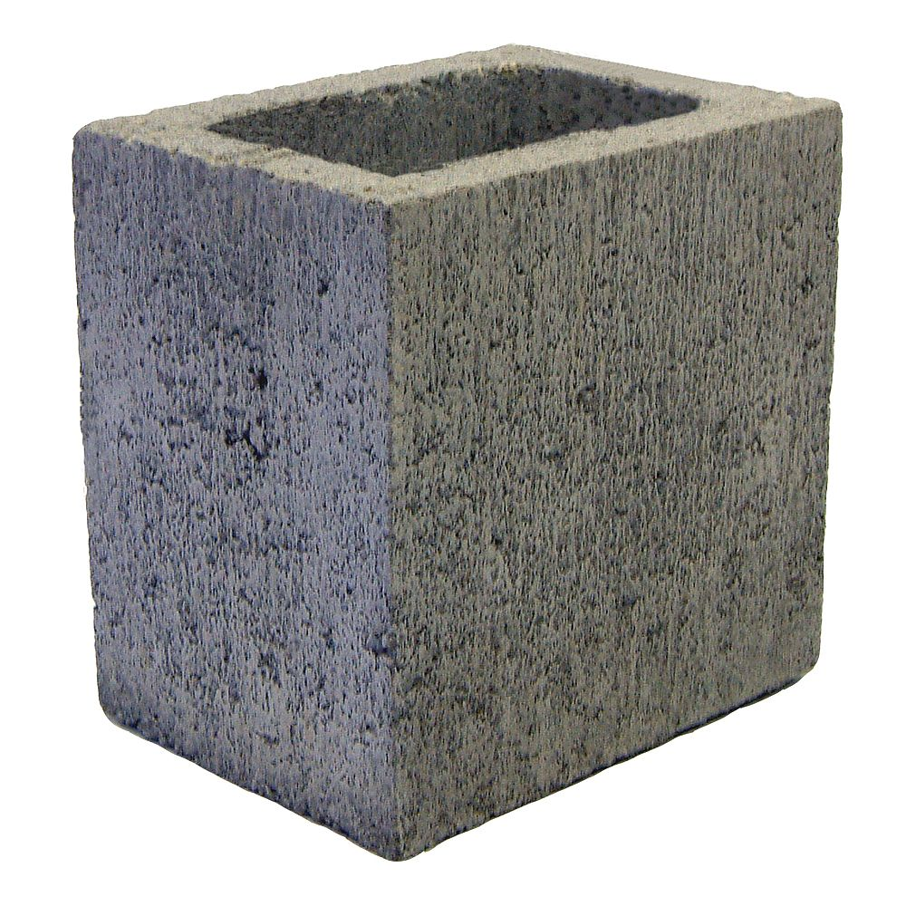 Basalite Concrete Products SM DEMI GRIS 30CM