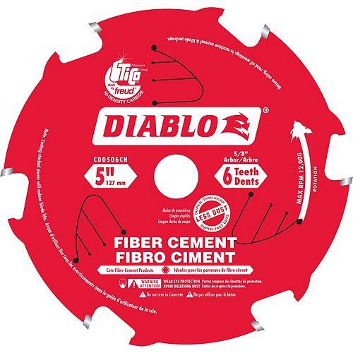 Lame Pour Fibro Ciment 5 po