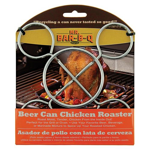 MR.BAR-B-Q Beer Can Chicken Roaster
