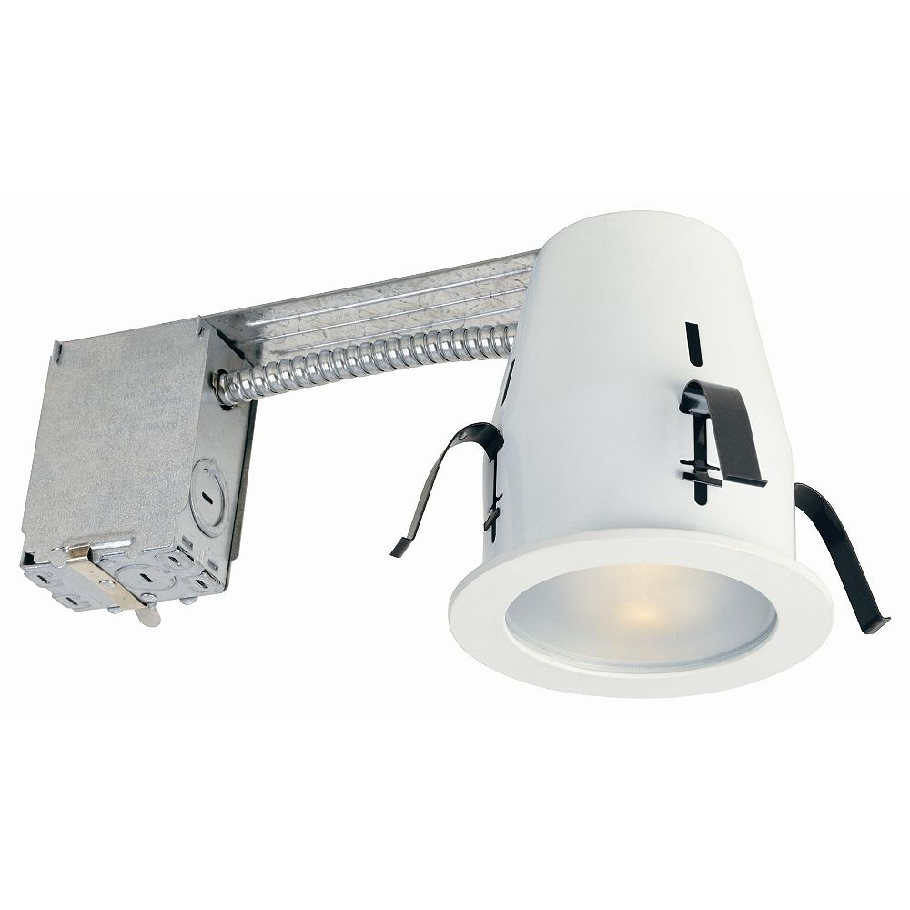 Commercial Electric Outdoor Soffit Lighting Kit 6 Pack The Home Depot Canada