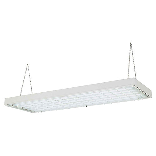 6-Light High Output Fluorescent High Bay