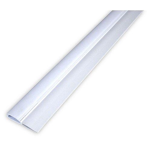 White PVC Door Sweep 91 cm