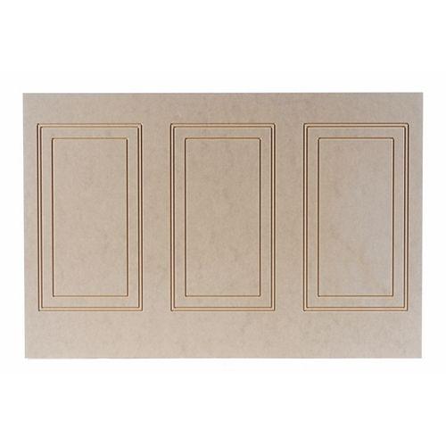 Fibreboard Hilton Wall Panel 1/4 Inch X 48 Inch X 32 Inch