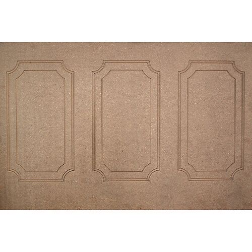 Fibreboard Continental Wall Panel 1/4 Inch X 48 Inch X 32 Inch